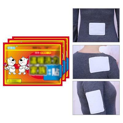 10Pcs Body Warmer Stickers Lasting Heat Patch Hand Foot Body Warm Paste Pads