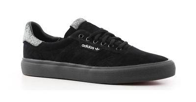 sports shoes 07346 31ee2 New Mens Adidas 3MC Skateboarding Suede Shoes 11.5 Core Black White Grey  F35258