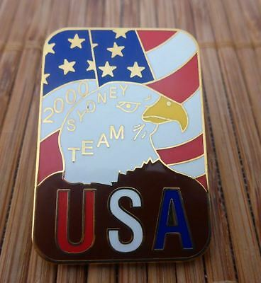 Sydney 2000 Olympic Games - Team USA Badge / Pin