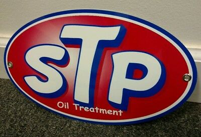STP OIL TREATMENT Garage Sign