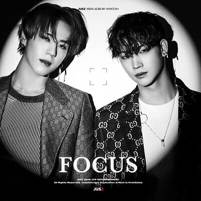 JUS2 GOT7 - FOCUS [B ver.] CD+Pre-Order Benefit+Poster+Gift+Tracking no.