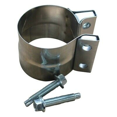 """Dynomax 33272 Band Style Strap Exhaust Clamp 3"""" Stainless Steel Lap Joint NOS"""