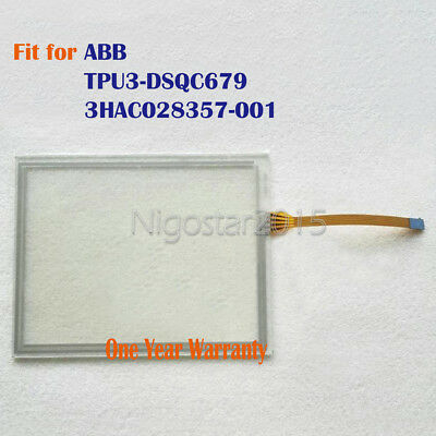 New Touch Screen Glass for ABB TPU3-DSQC679 3HAC028357-001 One Year Warranty