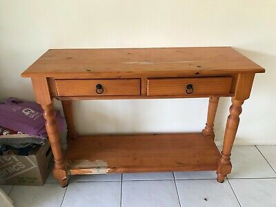 Country Style, Solid Pine Hall table