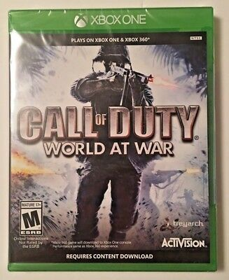 Call of Duty - World At War (Microsoft Xbox One + 360, 2008) Brand New / Sealed