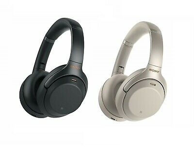 SONY WH-1000XM3 Wireless Noise Cancelling Headphones (Black/Silver)