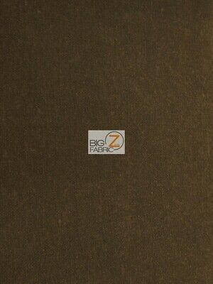 100% WAXED COTTON OUTDOOR WATERPROOF CANVAS FABRIC (15OZ) - Brown - BY YARD