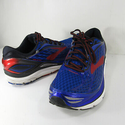 5cb816a778b Brooks Transcend 4 Running Shoes Men s Size US 12.5 D EU 46.5 Blue  1102491D414