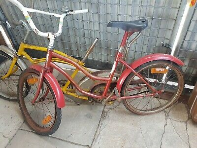 Vintage dragster bicyclesNick and kirby and roadmaster