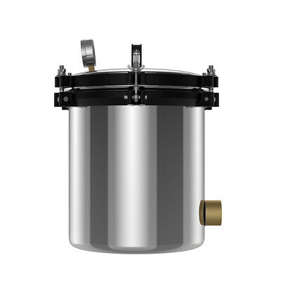 18L 220V Stainless Steel Dual Heating Pressure Steam Autoclave Sterilizer JS