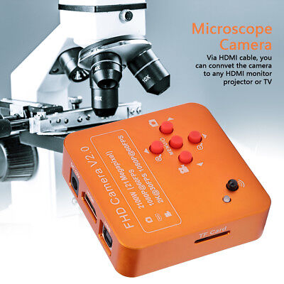 21MP HDMI USB C-mount Industry Microscope Camera 1080P Video Camera EU Plug 220V
