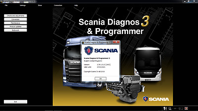 SDP3 v2.38.2 2019 Scania Diagnos 3 & Programmer Multilanguage for VCI-2 VCI-3