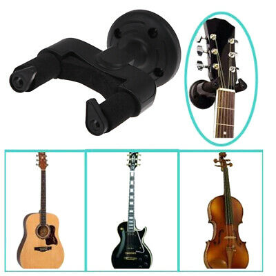 Guitar Hanger Wall Mount Stand With Wooden Base For Display Bracket Hook Holder