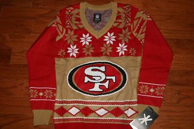 buy online 7949d 32955 NFL TEAM APPAREL San Francisco 49Ers Womens Ugly Christmas Sweater Small  New Nwt