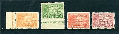1925 New Guinea mandated territory hut stamps mint