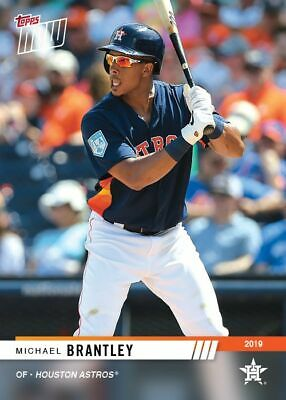 2019 Topps NOW Road to Opening Day Michael Brantley Houston Astros