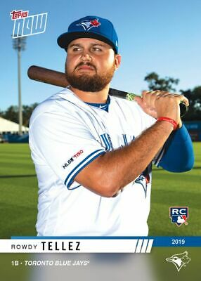2019 Topps NOW Road to Opening Day Rowdy Tellez Toronto Blue Jays RC