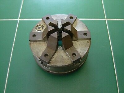 Bison 100mm precision 6-jaw chuck