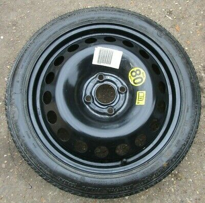 Vauxhall Astra Corsa 01-14 Space Saver Spare Wheel And T115 70 R16 92M Tyre. #24