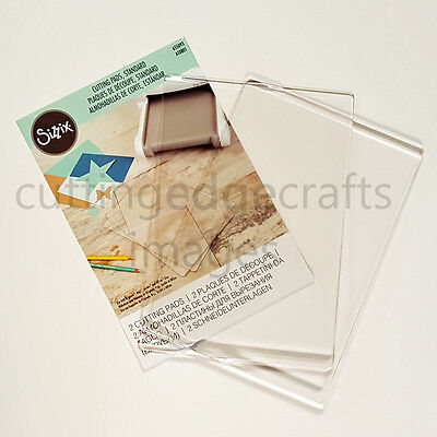 OFFIClAL SIZZIX® CUTTING PADS, STANDARD (1 PAIR) FREE UK SHIPPING ONLY £7.99