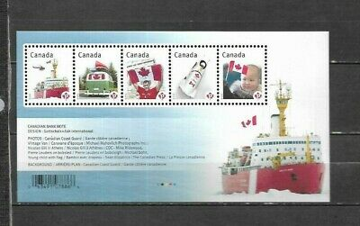 pk41614:Stamps-Canada #2498 Canadian Pride 5 x 'P' Rate Souvenir Sheet -MNH