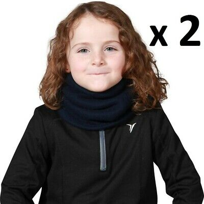 2 x KIDS Youth Children Girls Boys Neck Warmer Tube School Evening Winter Warm