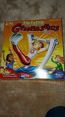 Childrens Aged 8 + Fantastic Gymnastics Game From Hasbro New