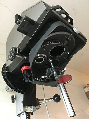 Large format photography Photographic enlarger Durst 138s working.