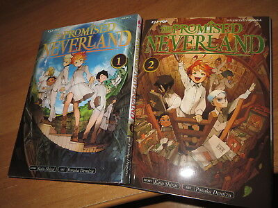 THE PROMISED NEVERLAND 1 & 2  NUOVO SCONTATO!! manga J-pop