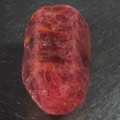31.74 Ct - Beautiful Unheated Natural Rough Red Pink Ruby Mozambique
