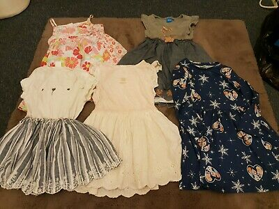 bundle of girls dresses size 3-4 years