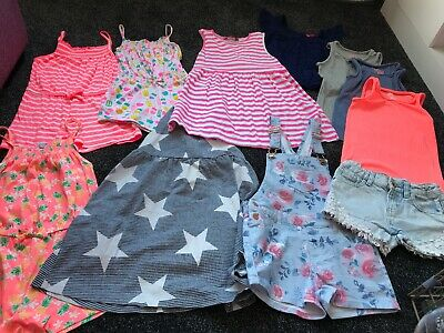 Girls Age 6-7 Bundle Of Summer Clothes