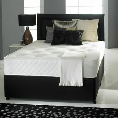 New Chenille Divan Base With Under Bed Storage Drawers 4Ft 4Ft6 5Ft Doouble King