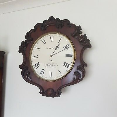 Antique Fusee Dial Clock