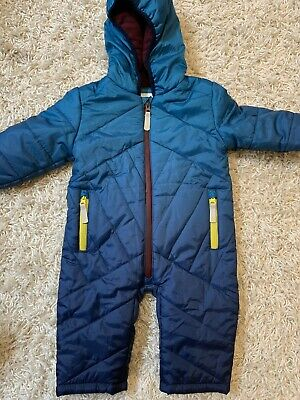 Ted Baker Boys Snowsuit All In One 9-12 Months