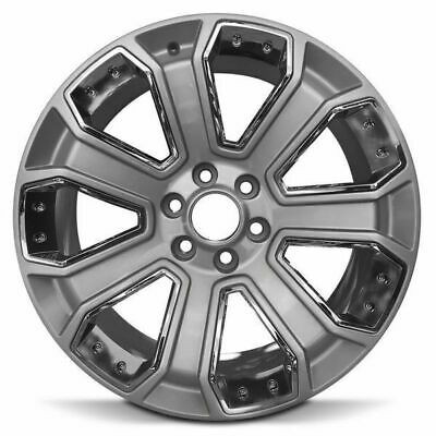 Gmc Sierra Yukon Denali Factory 22 Wheels Oem Rim 5665 Black
