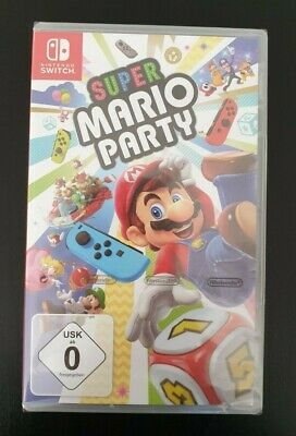 super mario party switch spiel, originalverpackt, neu