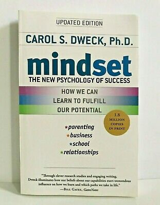 Mindset: The New Psychology of Success 2007 Paperback Book by Carol S. Dweck