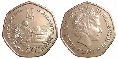 Isle of Man set of 6 coins 1 penny 2 pence 1984-2002 UNC