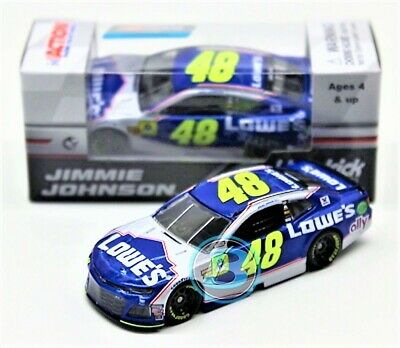 Jimmie Johnson 2018 ACTION 1:64 #48 Lowe's Finale Chevy ZL1 Nascar Diecast