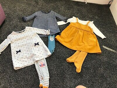 Baby Girls 12-18 Months Bundle Of Clothes