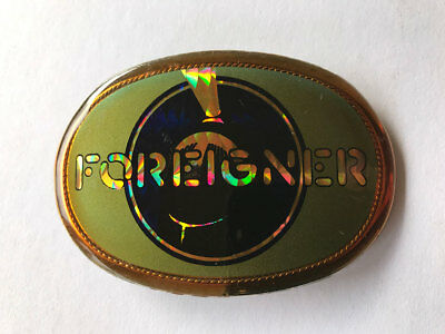 Foreigner True Vintage Pacifica Belt Buckle 1978