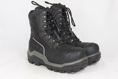 2b9d21dfa0b DUNLOP 8'' CTCP Waterproof Leather Men's Work Boots, UK 10 / EU 44.5 / 11478