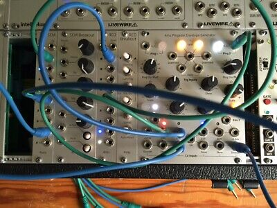 4ms PEG/RCD/SCM and EXPANDERS mini system EURORACK MODULAR SYNTHESIZER