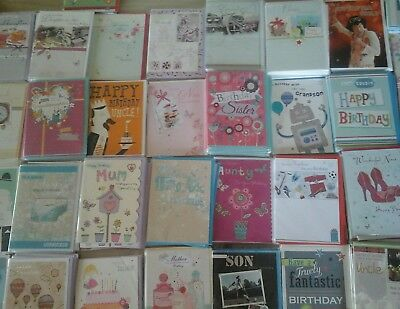 50 Family Cards, Wholesale Joblot Greeting Cards