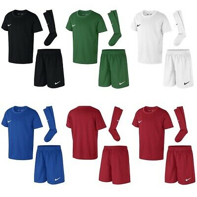Nike Kids Football Kit - Park T Shirt Shorts Socks Childrens Boys Girls Rrp £35