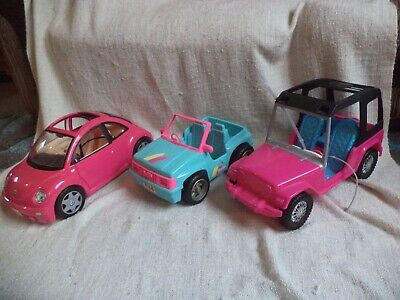 barbie vehicle bundle