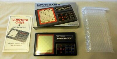 Mattel Electronics Computer Chess – Boxed and Fully Working