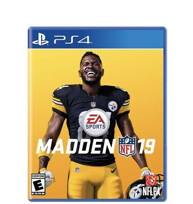 Madden NFL 19 - Standard Edition (Sony PlayStation 4, 2018) New/ Sealed