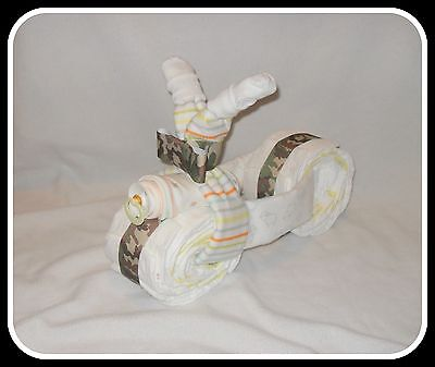 CAMO-Neutral Beautiful Diaper/Receiving Blanket Tricycle